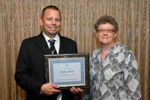 Brad Bullock and TASC Program Administrator Sandy Kiehna