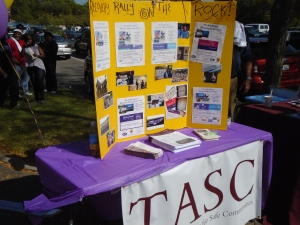 TASC provides informational resources at Recovery Month events each year.