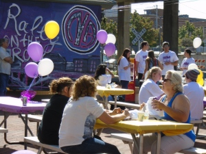 Friends and families enjoyed food and music at the 7th Annual Recovery Rally on the Rock in Rockford on September 26.