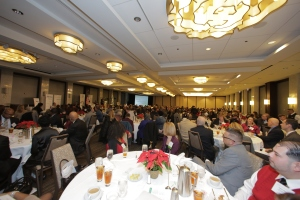 Supporters filled the Westin Michigan Avenue ballroom for TASC's 2015 Leadership Awards Luncheon. Photo by Uk Studio.