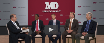 TASC's Jac Charlier (far right) and Phillip Barbour (second from left) appear in MD Magazine Peer Exchange series.